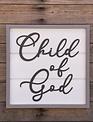 Child of God Framed Sign