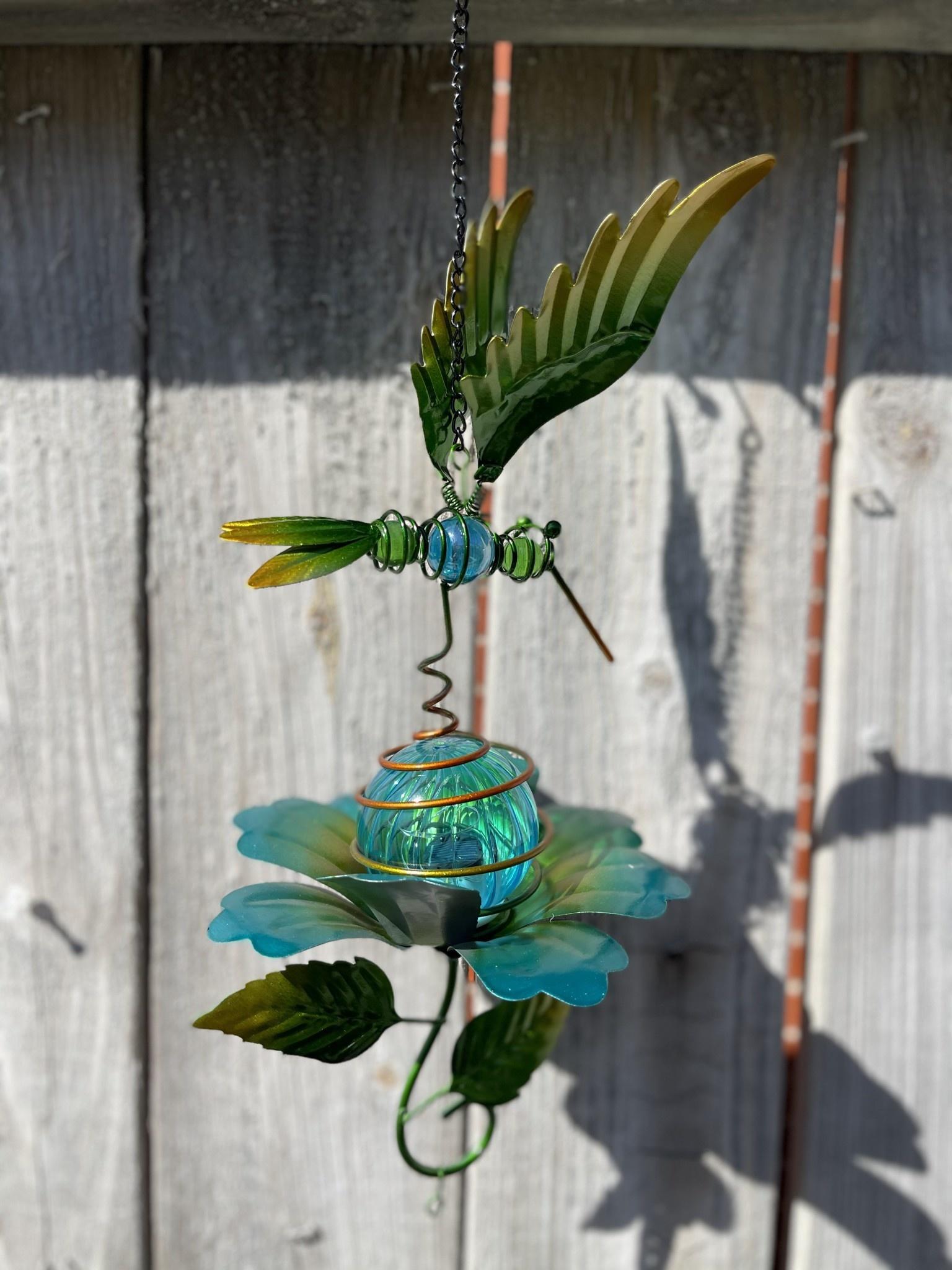 Solar Lighted Garden Friend Wind Chime