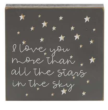 Star Block Sign (4-Styles)