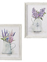 Pitcher of Lilacs Framed Wall Art (2-Styles)