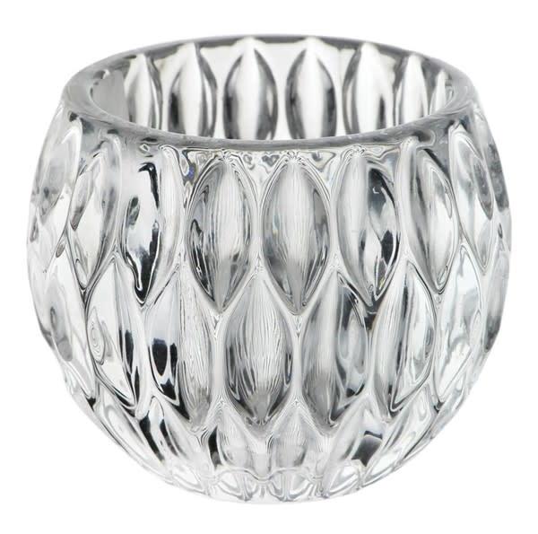 Glass Prism Votive Holder