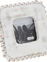 Mini Whitewashed Beaded Frame (2-styles)