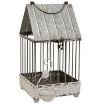 Shabby Chic Bird House Lantern