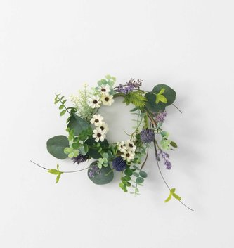 Wildflower Thistle Candle Ring (2-Sizes)