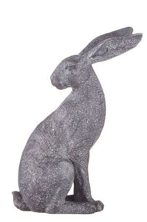 Speckled Gray Sitting Rabbit (2-Styles)