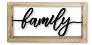 Metal Cut Out Message Sign (3-Styles)