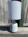 Gray Speckled Mini Lamp