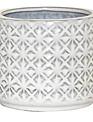 Textured Ceramic Tan Container