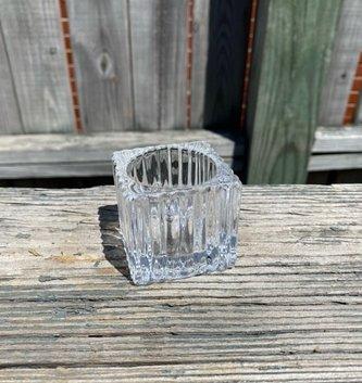 Square Glass Votive Holder