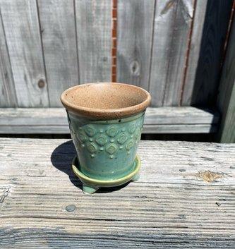 Mini Pot w/ Saucer