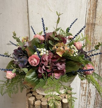 English Provence Garden Custom Arrangement