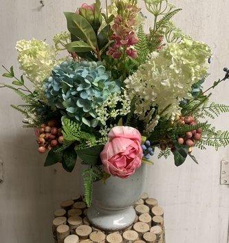 Custom Summer Hydrangea Arrangement