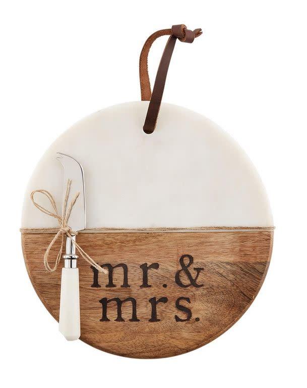 Mr & Mrs Cutting Board Set