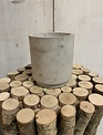 Grey Stoneware Container (3-Styles)