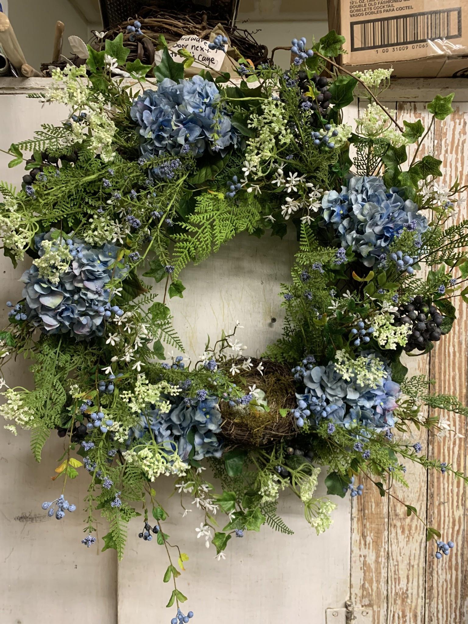 Blue Robins Egg Wreath