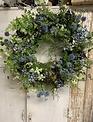 Blue Meadow Nest Wreath