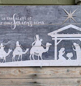 O Holy Night Wall Art