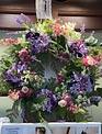 Lavendar Meadow Wreath