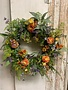 Custom Pete's Sunset Wreath