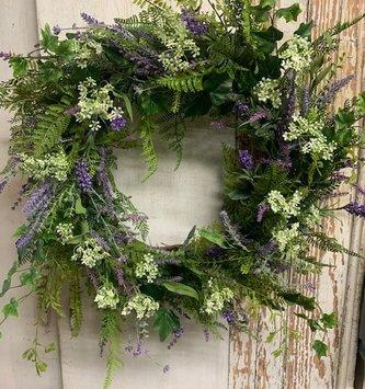 Custom Lavender 2021 Wreath