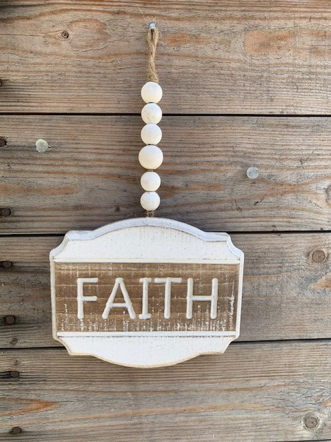 Hanging Beaded Sign (3-styles)