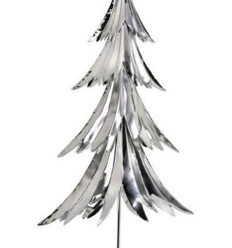 Silver Whimsical Christmas Tree (2-Sizes)