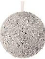 Iced Beaded Glitter Ball (2-Sizes)