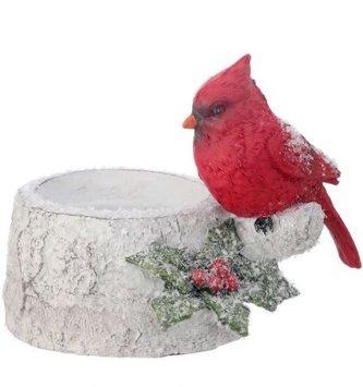 Cardinal Birch Candle Holder