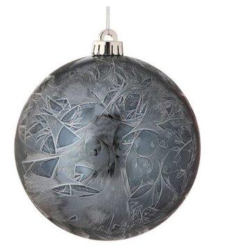 Midnight Blue Ball Ornament
