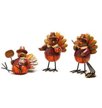 Whimsical Autumn Turkey (3-Styles)