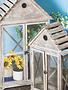 Slated Roof Birdhouse Cabinet (2-Sizes)