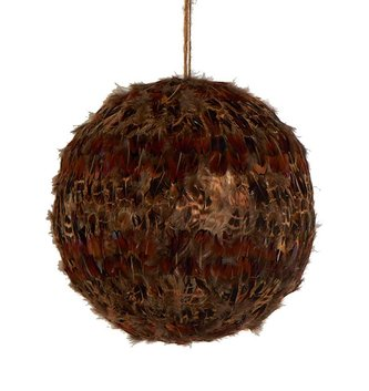 Brown Feather Ball