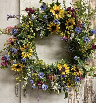 Blue Ridge Meadow Wreath
