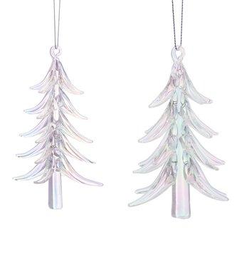Iridescent Christmas Tree Ornament (2-Sizes)