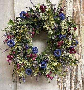 Custom Garden Path Wreath