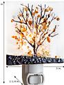 Glass Tree Night Light (2-Colors)