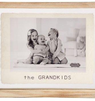 5'' x 7'' Grandkids Glass Frame