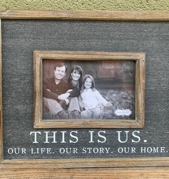 This is Us Wooden Frame
