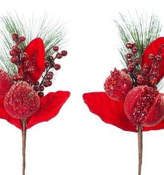 Bountiful Glitz Fruit Pick (2-Styles)