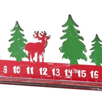 Metal Countdown To Christmas