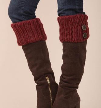 Simply Noelle Fireside Knit Boot Sock (4-Colors)