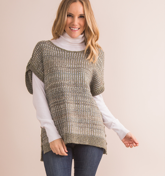 Simply Noelle Wayfair Button Sweater (3-Colors 2-Sizes)