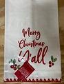 Merry Christmas Yall Towel
