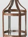 Rustic Pedestal Pillar Lantern (2-Sizes)