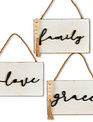 Beaded Hanging Wall Sign (3-Styles)