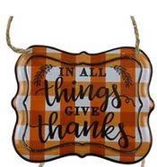 Mini Hanging Autumn Sign (6-Styles)