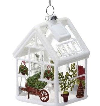 Garden Greenhouse Ornament