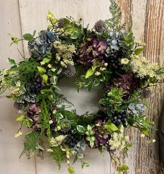Custom Blue Ridge Bliss Wreath