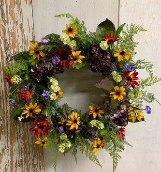 Custom Late July Wreath
