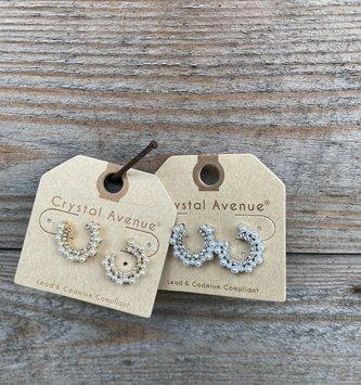 Mini Pearl Dainty Earring (2-Colors)